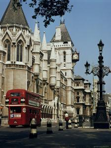 Royal Courts of Justice, the Strand, London, England, United Kingdom by G Richardson