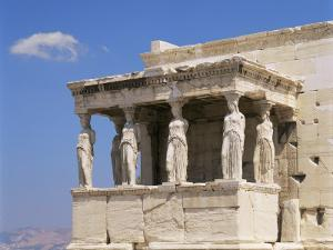 The Erechtheion, Acropolis, Unesco World Heritage Site, Athens, Greece by G Richardson