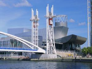 The Lowry, Theatre & Art Gallery, Salford Quays, Manchester, England by G Richardson
