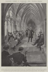 Coronation Workmen at Westminster Abbey, Practical Religion by G.S. Amato