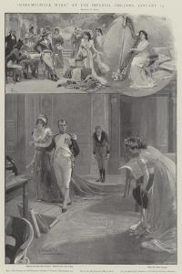 Mademoiselle Mars, at the Imperial Theatre, 25 January by G.S. Amato