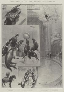 Performances at the London Hippodrome by G.S. Amato
