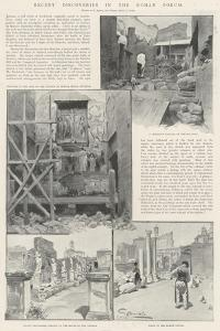 Recent Discoveries in the Roman Forum by G.S. Amato