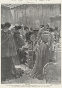 Royal Patronage of Art Needlework by G.S. Amato