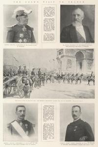 The Czar's Visit to France by G.S. Amato