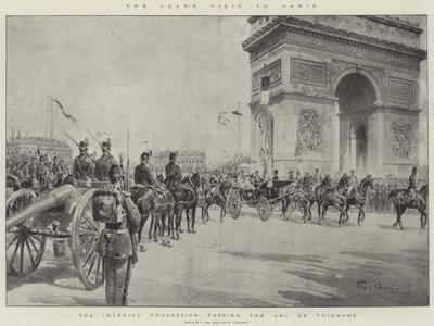 The Czar's Visit to Paris