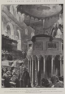 The Death of Queen Victoria by G.S. Amato
