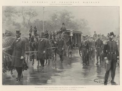The Funeral of President Mckinley