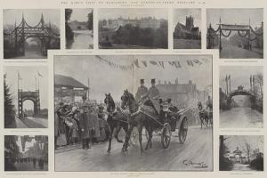 The King's Visit to Rangemore and Burton-On-Trent, 21-24 February by G.S. Amato