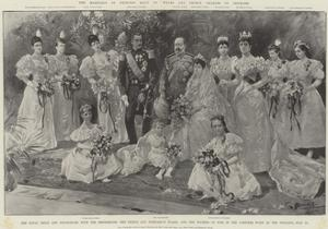 The Marriage of Princess Maud of Wales and Prince Charles of Denmark by G.S. Amato