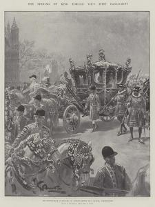 The Opening of King Edward VII's First Parliament by G.S. Amato