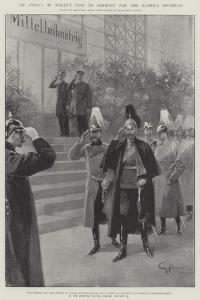 The Prince of Wales's Visit to Germany for the Kaiser's Birthday by G.S. Amato