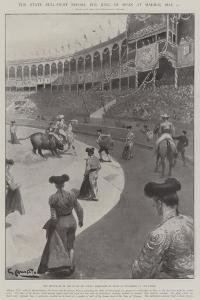 The State Bull-Fight before the King of Spain at Madrid, 21 May by G.S. Amato