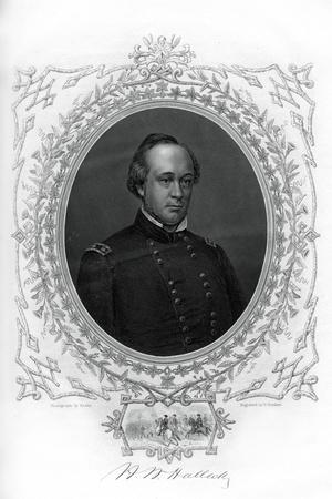 General Henry Wager Halleck, Senior Union Army Commander, 1862-1867
