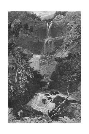 'Panorama of Trenton Falls', 1883