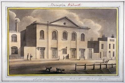 Acton Place Chapel, Southwark, London, 1825