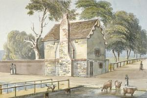 An Almshouse in Carshalton, Surrey, 1826 by G Yates