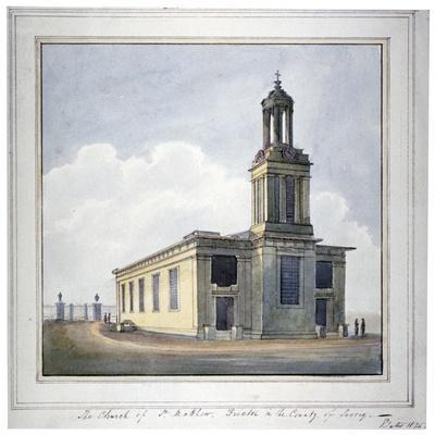 Church of St Matthew, Brixton, Lambeth, London, 1825
