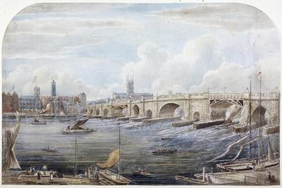 London Bridge, London, 1831