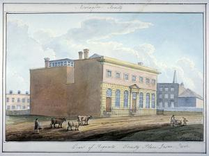 The Court of Requests, Trinity Place, Southwark, London, 1826 by G Yates
