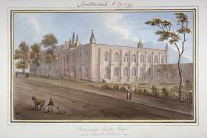 The Philanthropic Society Institution, Southwark, London, 1825 by G Yates