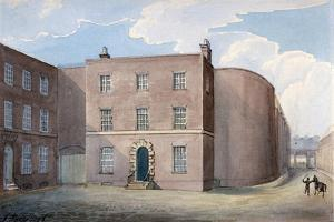 View of the Entrance to King's Bench Prison, Southwark, London, 1826 by G Yates