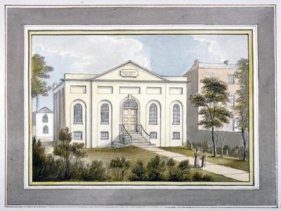 Walworth Chapel, Southwark, London, 1826