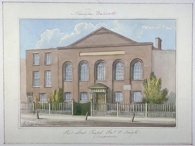 West Street Independent Chapel, Southwark, London, 1826
