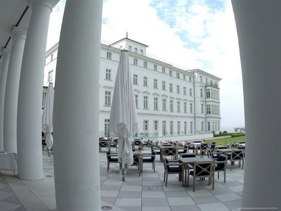 G8 Summit, Haus Mecklenburg of the Kempinski Grand Hotel, Germany-Frank Hormann-Photographic Print