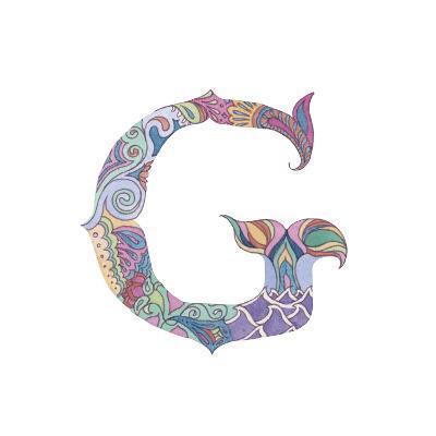 G-Green Girl-Giclee Print