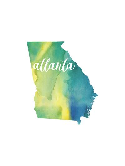 GA Atlanta-Paperfinch-Art Print