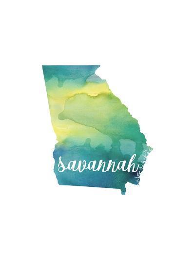 GA Savannah-Paperfinch-Art Print