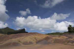 A Tourist Attraction Featuring Colorful Sands Created Through the Decomposition of Basalt by Gabby Salazar