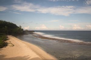 An Empty White Sand Beach by Gabby Salazar