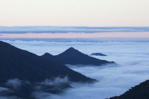 Clouds in the Valleys Between the Eastern Slopes of the Peruvian Andes as Seen from 3200 Meters by Gabby Salazar