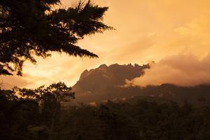 Mount Kinabalu at Sunset by Gabby Salazar