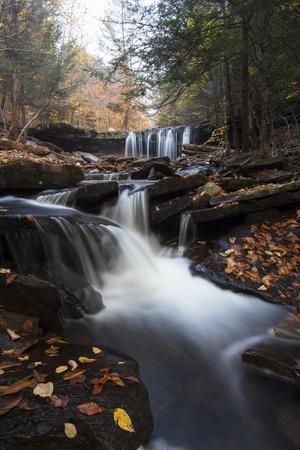 Oneida Waterfall in Ricketts Glenn State Park