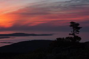 Sunrise from the Top of Cadillac Mountain, the First Place to See Sunrise in the United States by Gabby Salazar