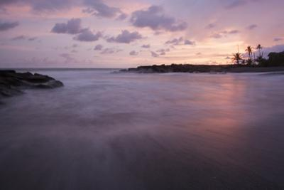 Sunset Above the Coast of the Osa Peninsula by Gabby Salazar