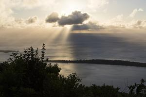 View of Benitiers Island from the Summit of Piton Du Canot Mountain by Gabby Salazar
