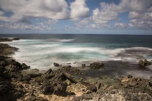 View of the Indian Ocean and Rocky Shore of a Tiny Offshore Island by Gabby Salazar