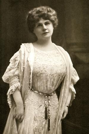 Marie Corelli, British Novelist, 1909