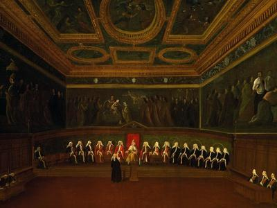 Hall of Council of Ten in Venice