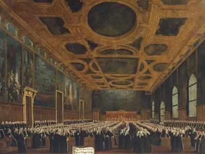 Hall of Great Council in Ducal Palace