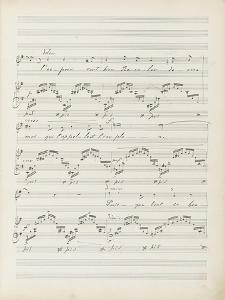 """La bonne chanson. Voix, piano. Op. 61 : Mélodie """"Puisque l'aube grandit"""" by Gabriel Fauré"""