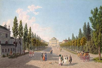 View of the Pavlovsk Palace from the Park, 1808