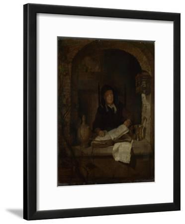 An Old Woman with a Book, C. 1660