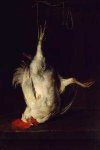 Dead Rooster by Gabriel Metsu