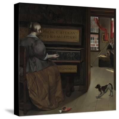Lady at a Virginal, Ca 1665