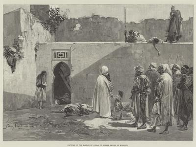 Capture of the Kasbah of Arbaa by Berber Troops in Morocco